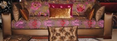 tissu pour canapé marocain salon marocain bahja tissus de qualité déco plafond platre