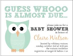 How To Make Baby Shower Invitation Cards Owl Themed Baby Shower Invitations Marialonghi Com