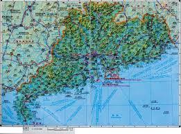 Dongguan China Map by Guangdong