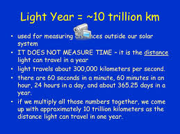 How Far Does Light Travel In A Year images Distances in space how far away are stars other celestial jpg