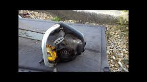 chainsaw repair mcculloch eager beaver youtube