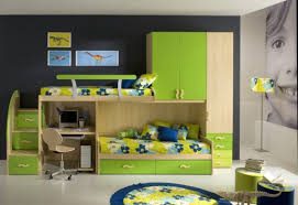 bunk beds with colorful styles decoration channel kids room images home decor large size bedroom in vogue custom built in single beds with office laptop