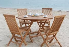 furniture trendy teak outdoor dining table costco horrible teak