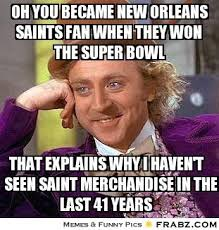 Funny Saints Memes - anti new orlean saints jokes bing images football pinterest