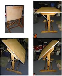 How To Build Drafting Table Drafting Table Plans To Build Jeremybyrnes
