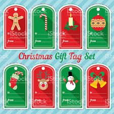 christmas gift tag design set stock vector art 626812266 istock