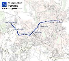 map of perugia file minimetrò perugia map png wikimedia commons