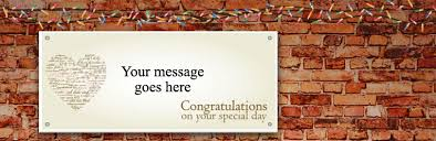 Congratulations Engagement Banner Engagement Party Supplies Party Delights