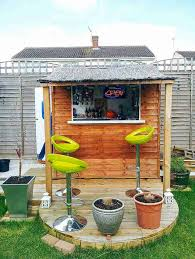 Backyard House Shed by Cool Backyard Shed Bars Great Ways To Convert Tool Sheds Thrillist