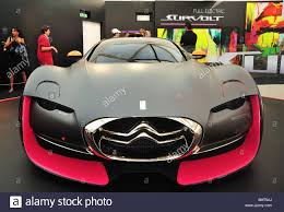 citroen sports car citroen survolt concept car all electric at citroen showroom in