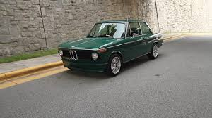 green bmw 1975 bmw 2002 amazon green for sale youtube