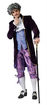 lord costume deluxe men s lord clive 18th century costume candy apple