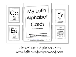 latin alphabet coloring book and flashcards printables half a