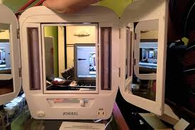 jerdon style euro design tri fold lighted mirror unboxing of jerdon lighted mirror youtube