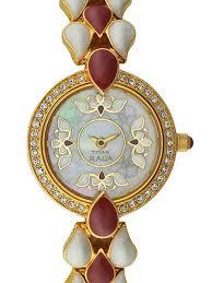 bracelet chain watches images Titan ladies raga quartz goldtone watch with bracelet 9747ym01 jpg