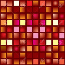 different shades of red illustrated abstract seamless tile background in different shades