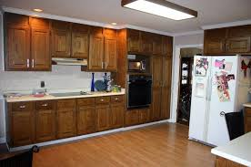 can you restain kitchen cabinets decorative restaining kitchen