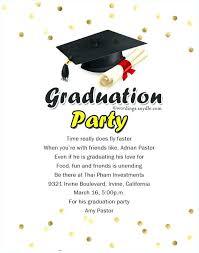 college graduation announcements templates graduation party invitations miesz co
