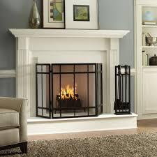 modern fireplace screens u2014 jen u0026 joes design beautiful fireplace