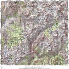 Sierra High Route Map by Hikes By Trailhead