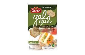 gluten free passover products gefen gluten free gal gal crackers crackers gluten free