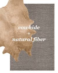 Cowhide Runner Rug Layered Rugs Faux Cowhide Natural Fiber Rug Layered