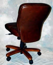 brown leather armless desk chair mahogany and more office chairs brown leather armless desk chair