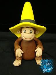 curious george cake topper 57 best gumpaste modeling figurine for kids images on