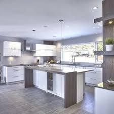 quartz cuisine armoires de cuisine en thermoplastique blanche et comptoir de