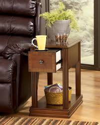Chair Side End Table Furniture Wedge Chairside Table Side Table For Recliner