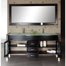 Modern Double Sink Bathroom Vanity by Discobath Virtu Usa Md 499 G Es Ava 63 Inch Double Sink Bathroom