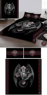 best 25 full size duvet cover ideas on pinterest paris themed anne stokes gothic dragon double duvet cover set 69 99 from angel clothing