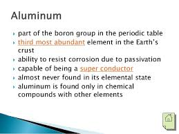 is aluminum on the periodic table copper and aluminum