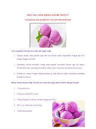 cara membuat whipped cream dengan blender cara membuat es krim taro alias ubi ungu