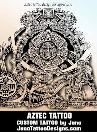 aztec tattoos u0026 templates calendar tattoo get yours