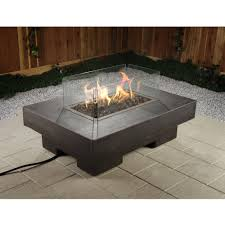 Rectangle Fire Pit Table Better Homes And Gardens Mason Heights Gas Fire Pit Walmart Com