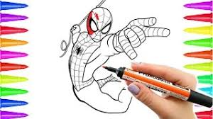 spiderman coloring pages coloring pages kids music jinni