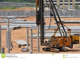 construction piling series 7 royalty free stock image image 5328046
