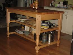 Stainless Steel Kitchen Work Table Island Kitchen Carts Islands Work Tables And Butcher Blocks Throughout