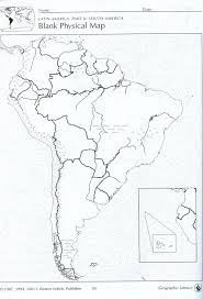 Us Map Blank by Us Physical Map Blank Political Prepossessing South America