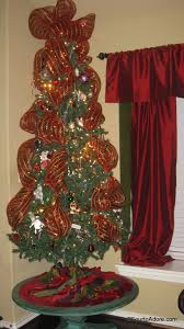 christmas mesh ribbon mesh ribbon on christmas tree four to adore