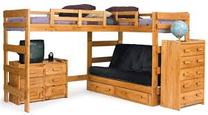 Bunk Bed With Sofa by L Shaped Futon Roselawnlutheran