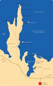 Double Map Enlarged Map Tamala Station Fishing U0026 Camping Shark Bay