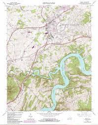 Map Of Charlottesville Va Dublin Topographic Map Va Usgs Topo Quad 37080a6