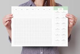 Desk Blotter Calendars Monthly Weekly Planner Desk Pad A3 Desk Pad Calendar With