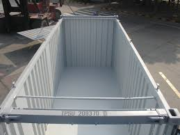 hard top open top shipping containers transport planning