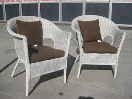 White Wicker Bedroom Chairs Painting White Wicker Chairs U2014 The Home Redesign