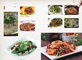 element cuisine food menu of delicious dishes element background