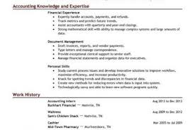 Merchandiser Resume Sample by Resume Objectives For Accounting Job Reentrycorps