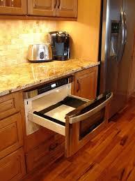 Drawer Kitchen Cabinets Best 25 Microwave Drawer Ideas On Pinterest Purple Storage